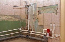 Замена старых труб в квартире, коттедже, на доче, доме, складе, помещении или офисе в городе Пермь